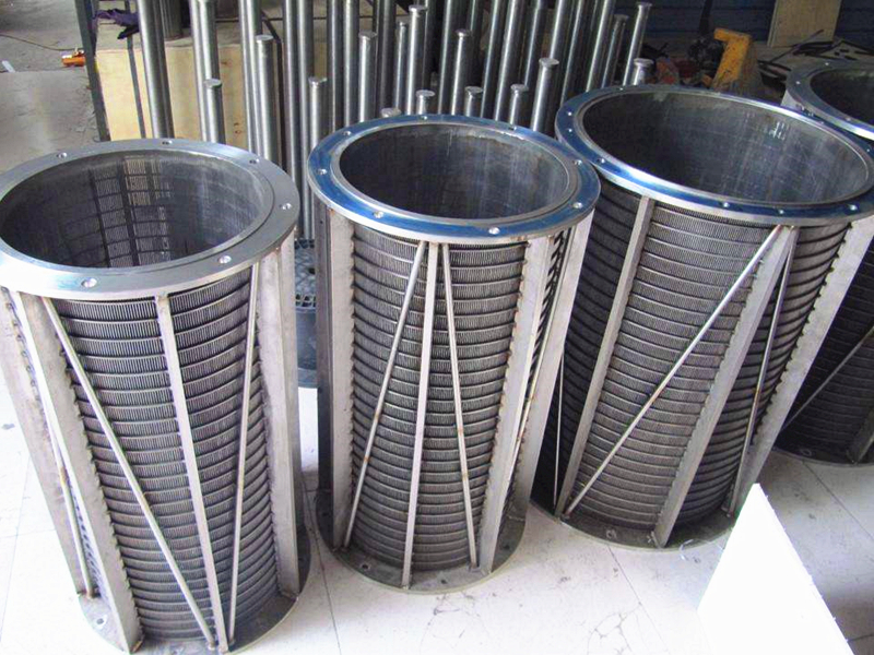 Wedge Wire Trommel Screens