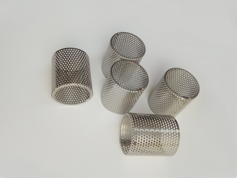 Perforated Metal Filter Cylinders