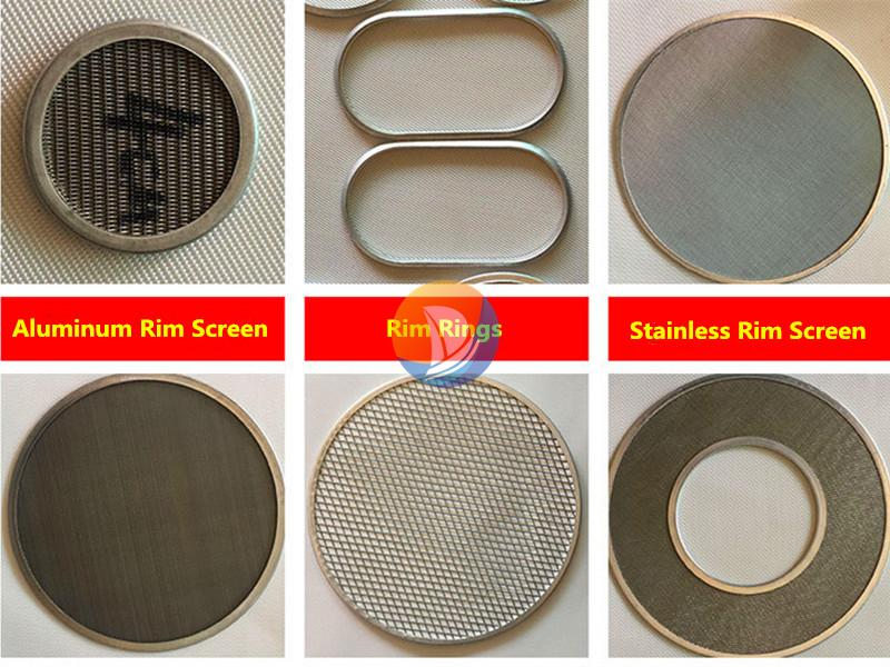 Extruder Screen Filter Pack
